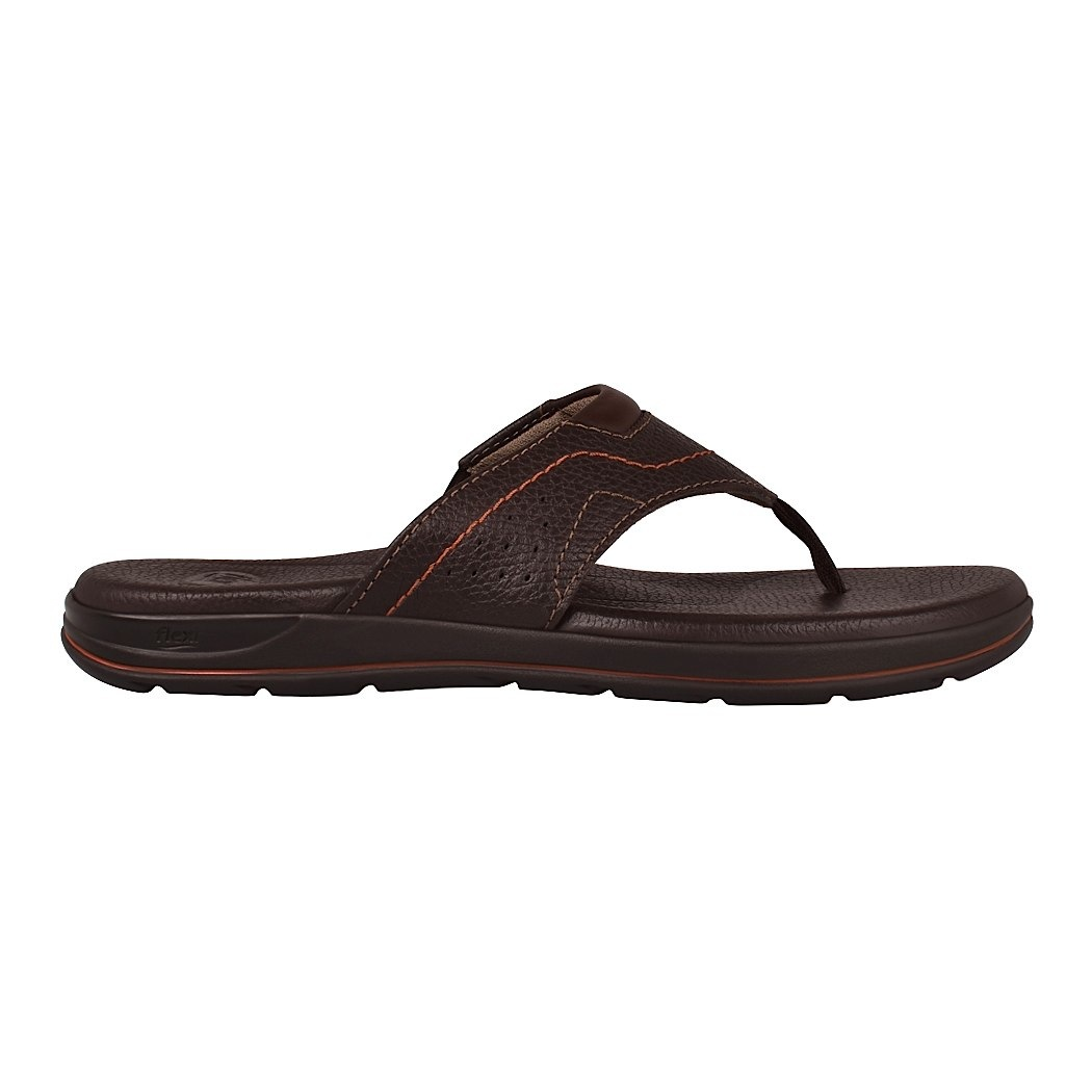 d8bbcba9466 ... sandalias casuales para caballero flexi 98704 chocolate -D190135-4 ...