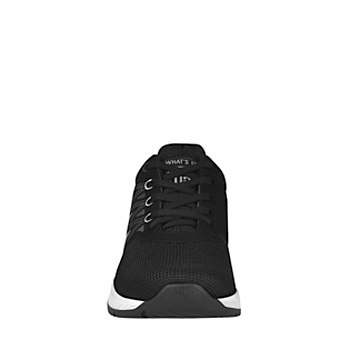Tenis casuales para dama what´s up 160866 negro