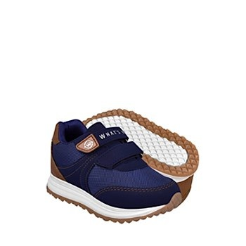 Tenis casuales para niño what´s up 0806-55 azul