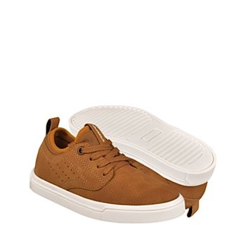 Tenis casuales para niño what´s up 0584-55 amarillo 