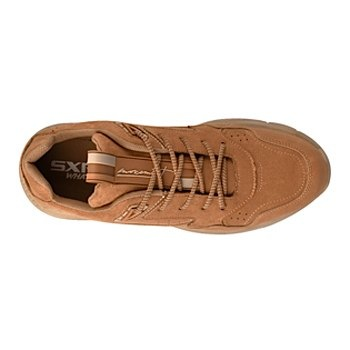 Tenis casuales para caballero what´s up  0824-35 café
